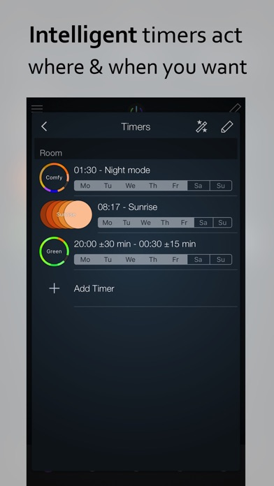 Screenshot #3 pour iConnectHue for Philips Hue