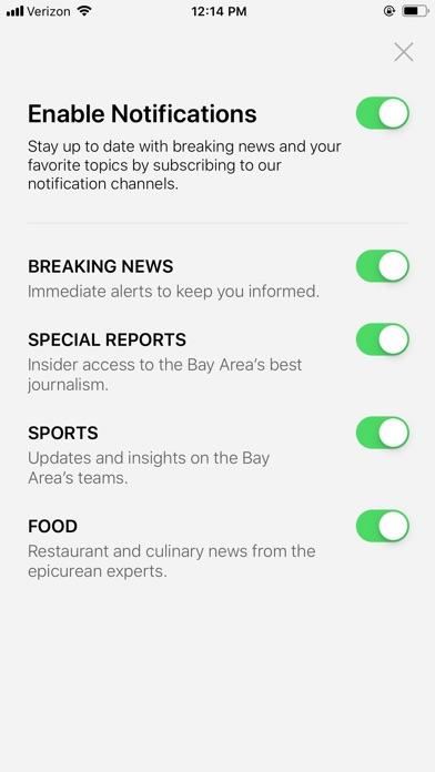 San Francisco Chronicle review screenshots