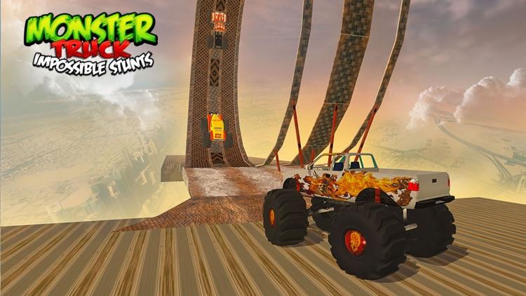 Monster Truck Impossible Stunts screenshot-3