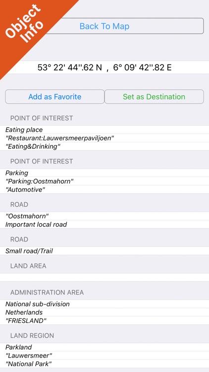 Lauwersmeer National Park - GPS Map Navigator screenshot-3