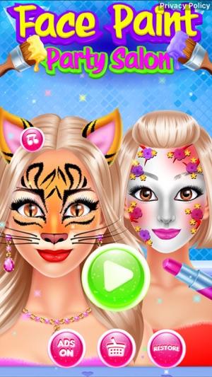 Face paint party salon on the app store screenshots solutioingenieria Images