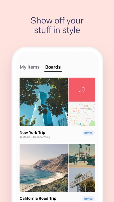 download Collect by WeTransfer apps 2