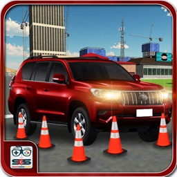 Stunts Prado Car Parking 3D