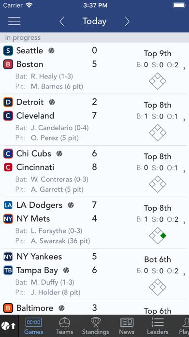 Sports Scores & Alerts Screenshot