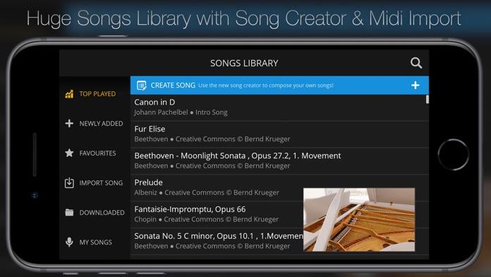 Piano 3D - Ultimate Piano App Screenshot