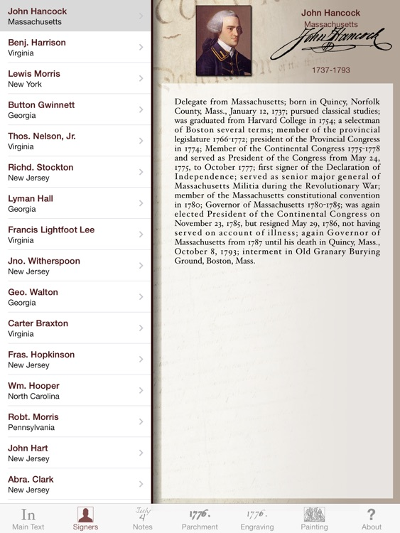 Declaration for iPad screenshot-3