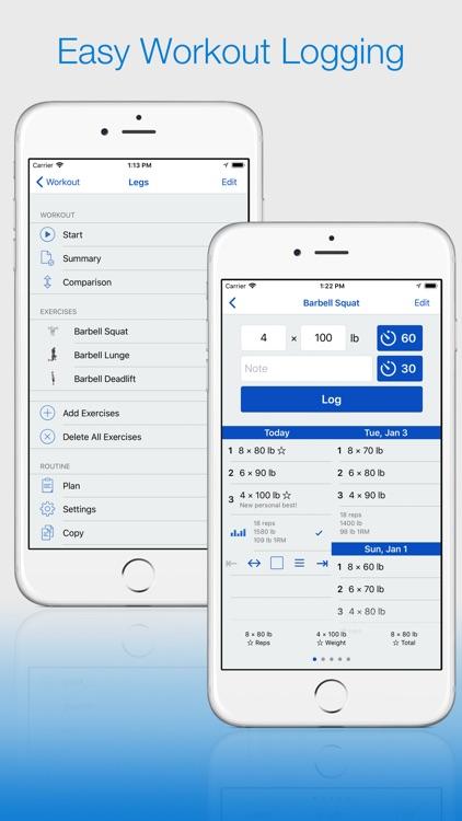 Gym Log Plus — Workout Tracker