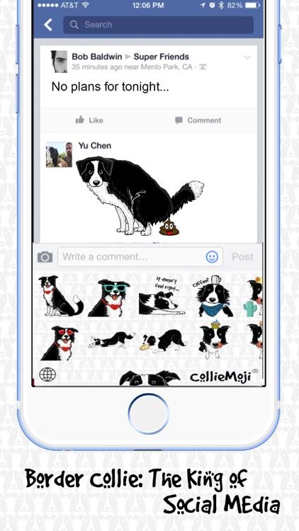 CollieMoji - Original Emojis screenshot-3