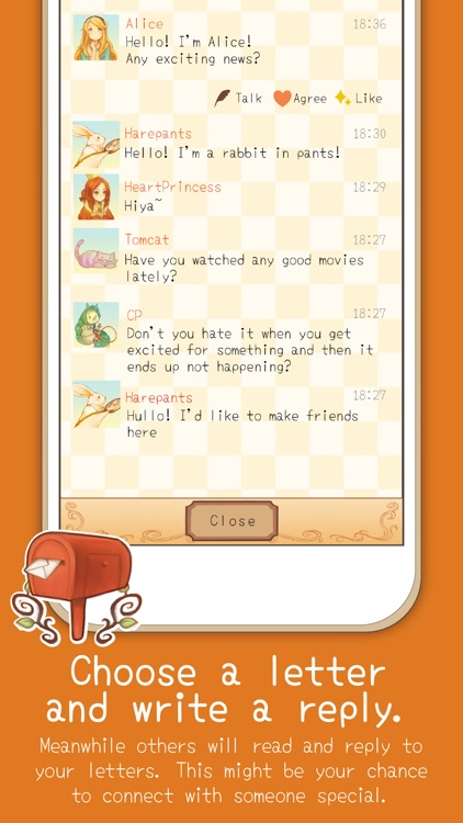 Alice Letters - Chat App screenshot-1