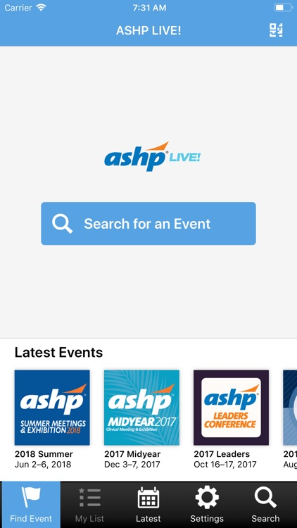 ASHP LIVE! screenshot-0