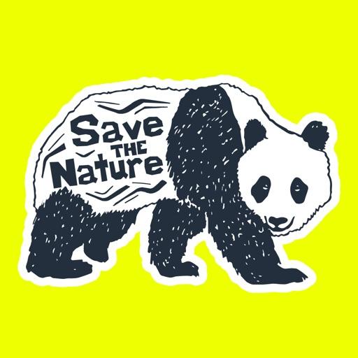 Ink Wildlife Quote Sticker App