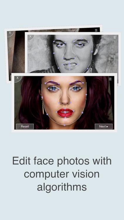 FaceFilm - Face Morph & Aging screenshot-4