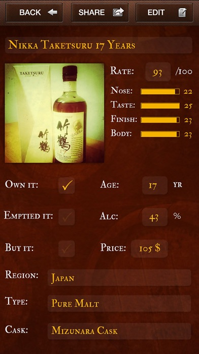 download Whisky Log indir ücretsiz - windows 8 , 7 veya 10 and Mac Download now