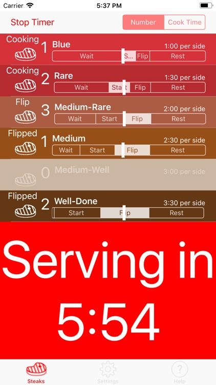 Steak Timer Pro screenshot-3