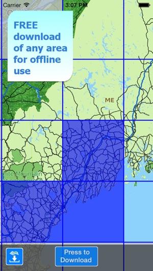 Aqua map maine lakes gps on the app store aqua map maine lakes gps on the app store gumiabroncs Choice Image
