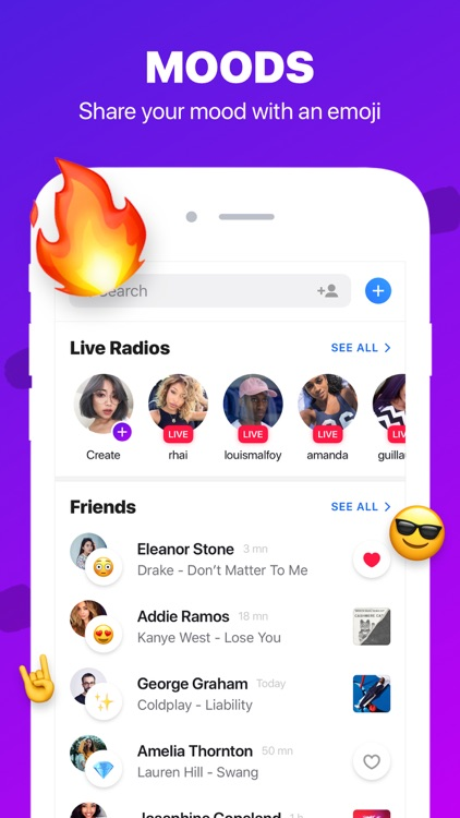 Sounds App Music Sharing
