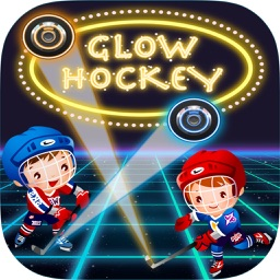 Glow Hockey 2 Player HD
