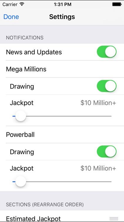 Mega Millions & Powerball screenshot-4
