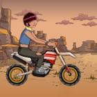 书呆子-Y骑自行车疯狂 - 在复刻审判拉力赛摩托车疯狂 icon