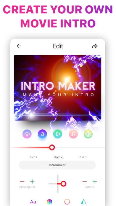 Intro Music Video, Movie Maker Screenshot