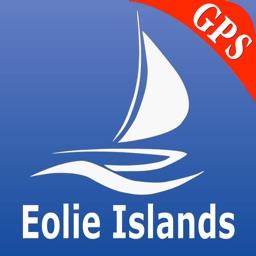 Aeolian Is. GPS Nautical Chart