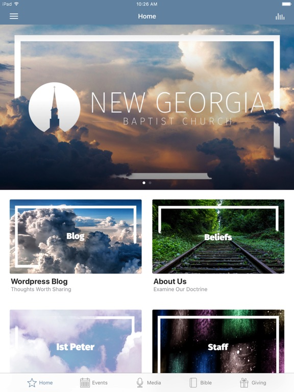 New Georgia Baptist Church App screenshot 4