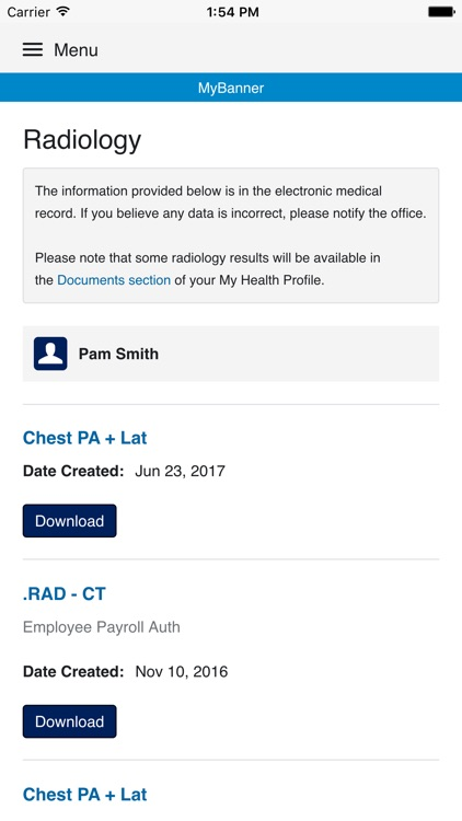 MyBanner Patient Portal