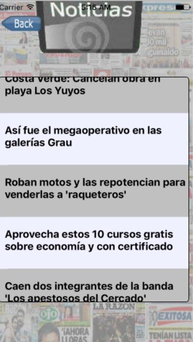 Entre Noticias España screenshot two