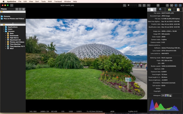 Le logiciel qui remplace très avantageusement iPhoto