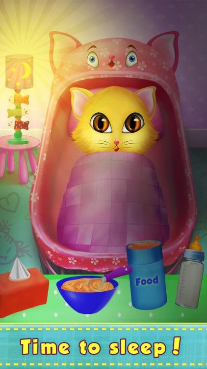 Kitty Love My Newborn Baby screenshot-4