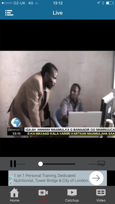 Universal Somali TV - App - Mobile Apps - TUFNC COM