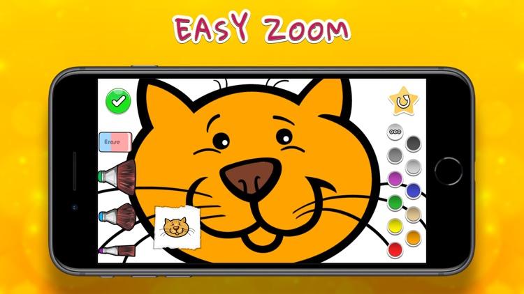 Coloring Your Cats screenshot-4