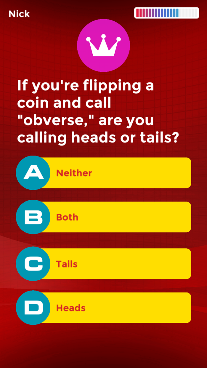 Trivia to Go - the Quiz Game Screenshot