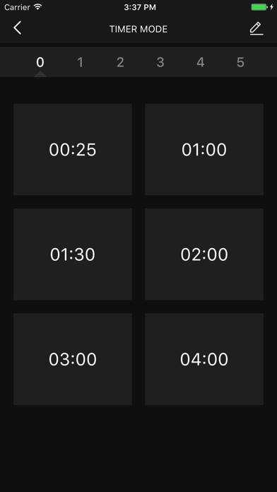 Chronofit screenshot four