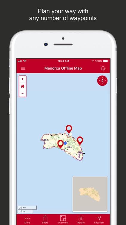Menorca Offline Map screenshot-6