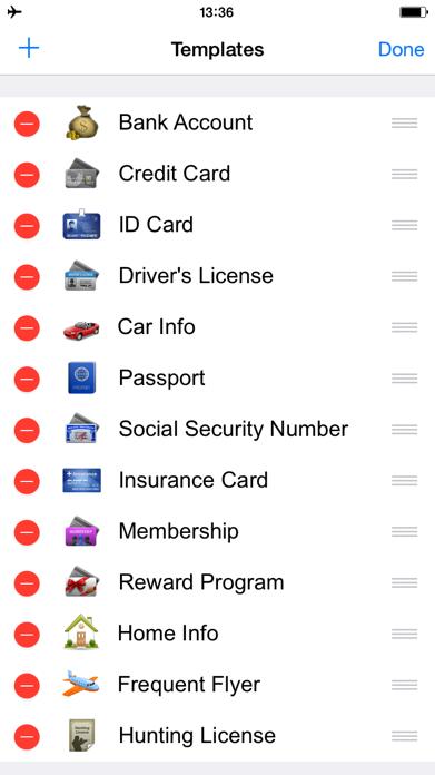 Password Manager Lock App Safe Screenshot
