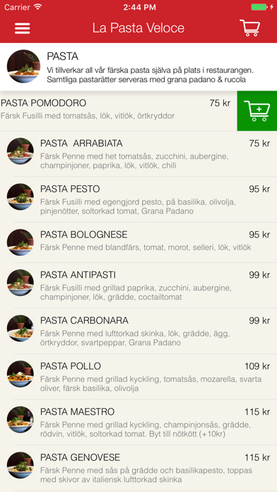 La Pasta Veloce Screenshot