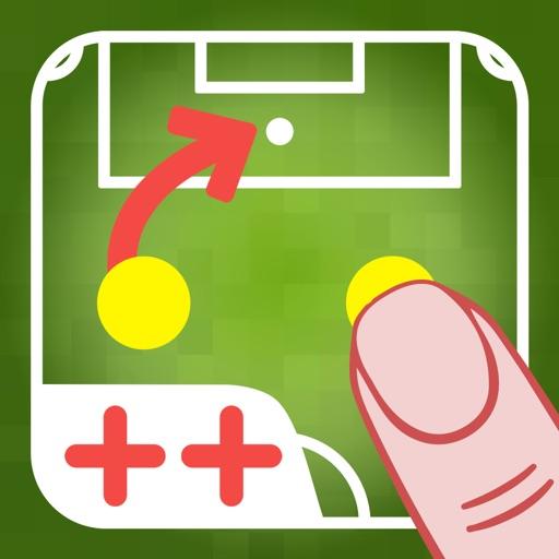 コーチのタクティカルボード-フットボール++
