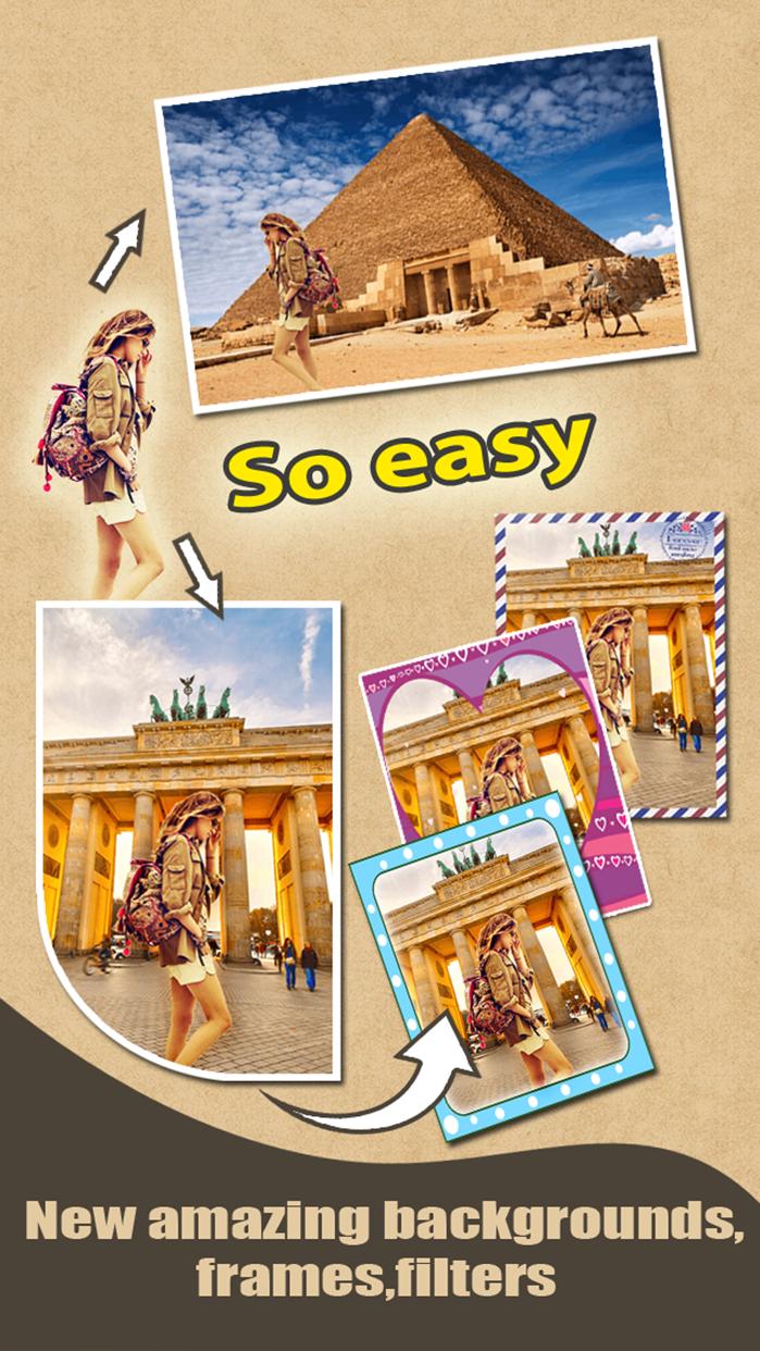 Cut & Show Me In - Photo Blender Background Eraser Screenshot