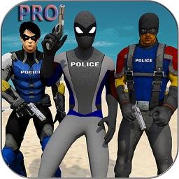 Super Police Heroes: City Supermarket Rescue - Pro