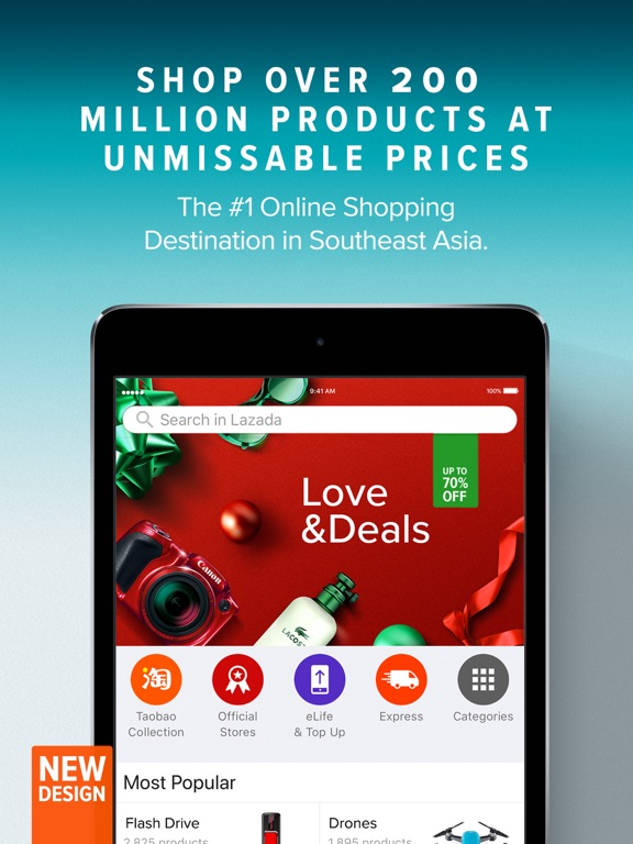 Lazada - #1 Online Shopping iPad