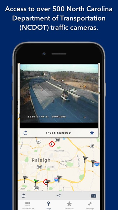 Screenshot for North Carolina Roads Traffic in Austria App Store