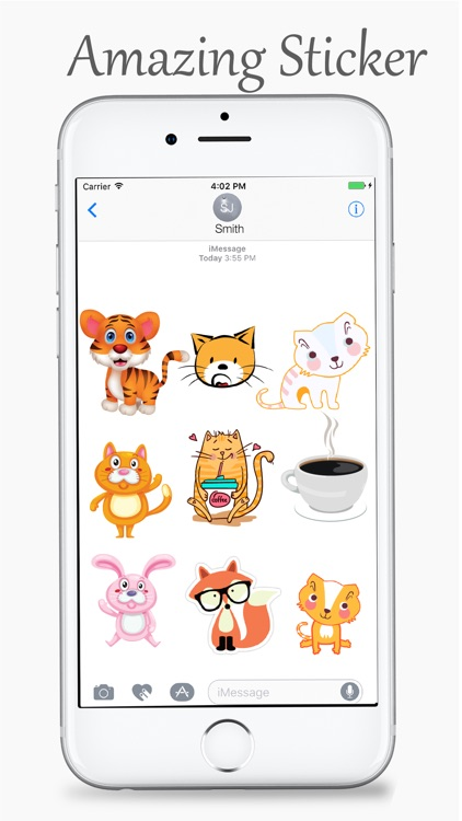 Cats and Coffee Lovers Stickers Pack screenshot-3