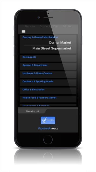 Digital Shopping List screenshot one