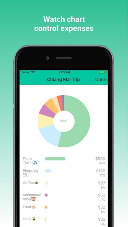 nomad wallet expense tracker by minho ko
