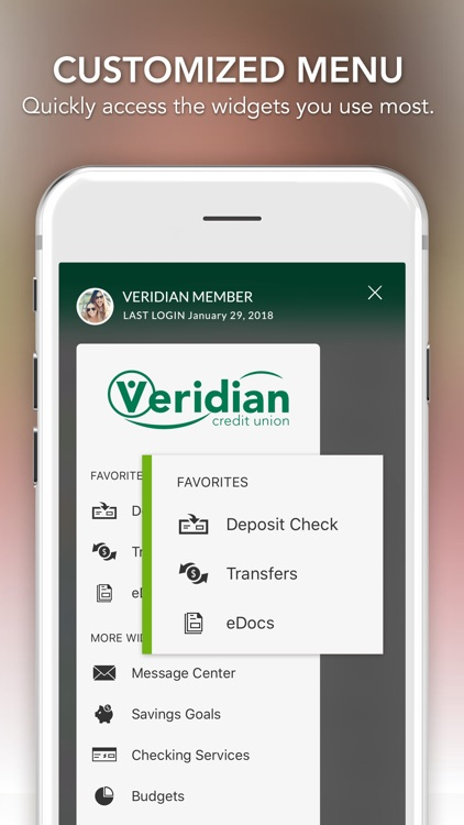 Veridian Mobile Banking screenshot-1