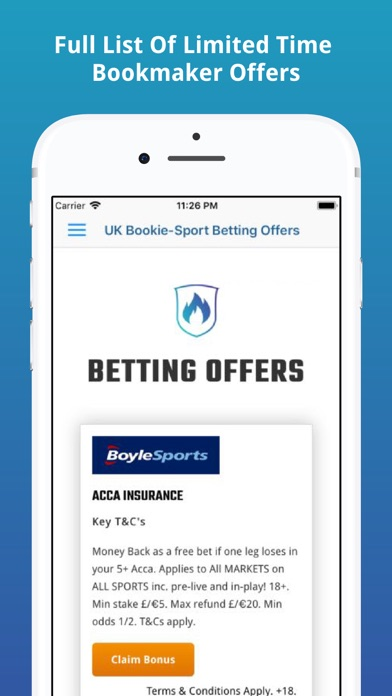 UK Bookie-Sport Betting Offers screenshot three
