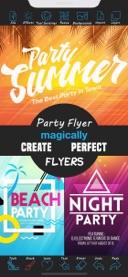 online party flyer maker