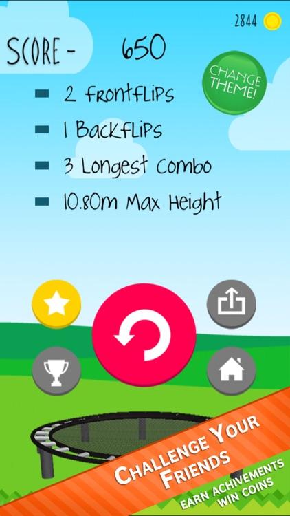 Stickman Trampoline screenshot-4