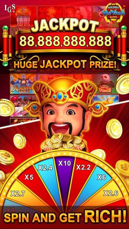 Golden HoYeah Slots Casino screenshot-3